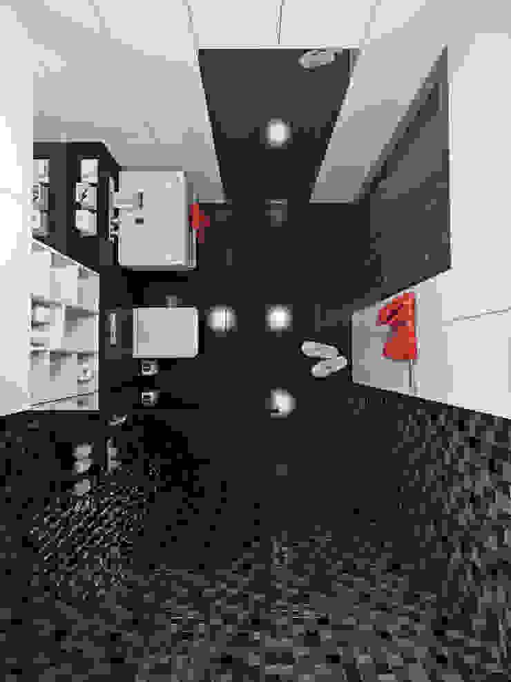 Квартира 110 кв.м г. Ульяновск Ванная комната в стиле модерн от Olesya Parkhomenko Модерн