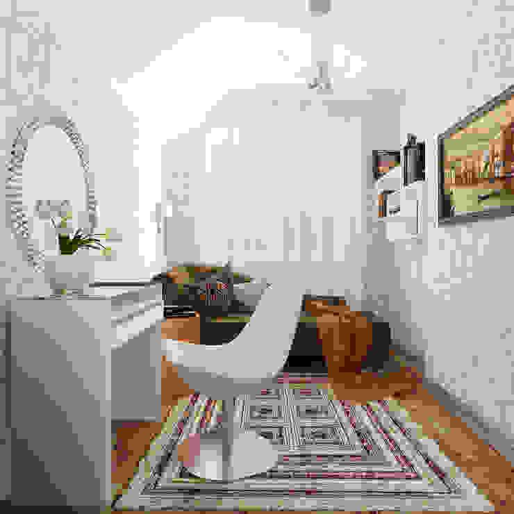 Будуар Спальня в эклектичном стиле от Olesya Parkhomenko Эклектичный