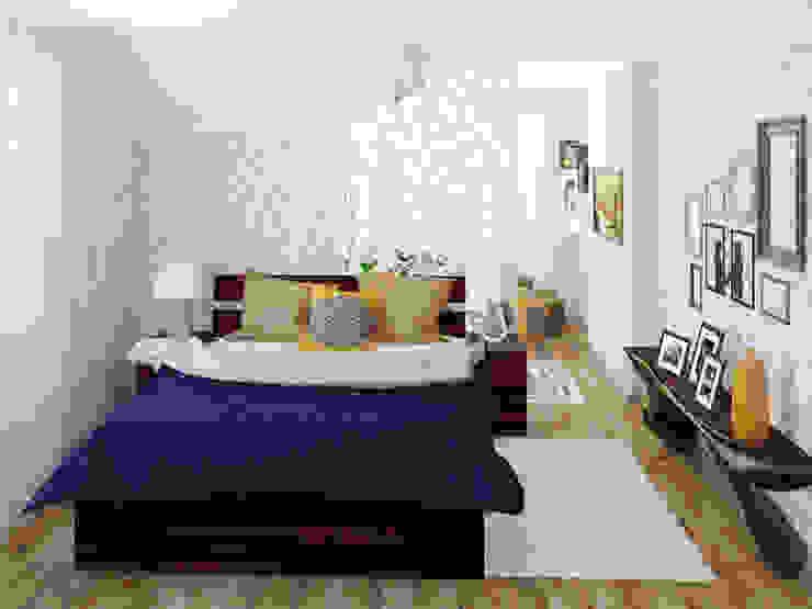 Спальня Спальня в эклектичном стиле от Olesya Parkhomenko Эклектичный