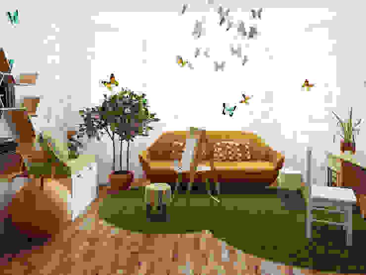 Детская девочки Детские комната в эклектичном стиле от Olesya Parkhomenko Эклектичный