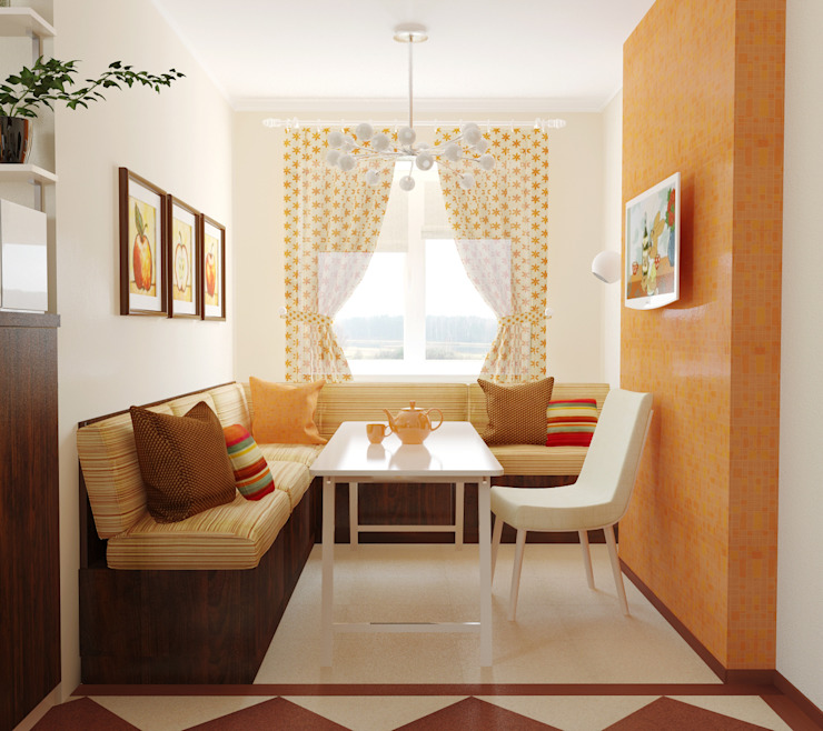 Dining room by Olesya Parkhomenko, Eclectic