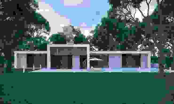 Современный дом Дома в стиле минимализм от Максим Любецкий Минимализм