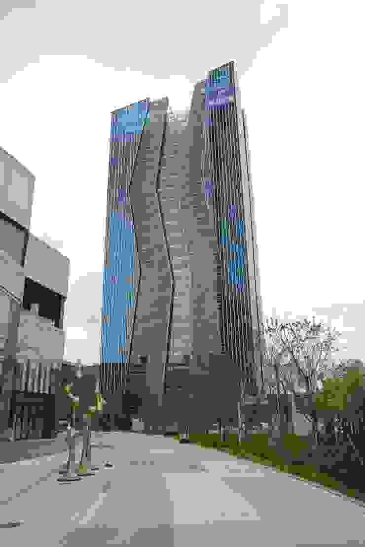 부산은행 본점 모던 스타일 컨퍼런스 센터 by (주)일신설계종합건축사사무소 모던