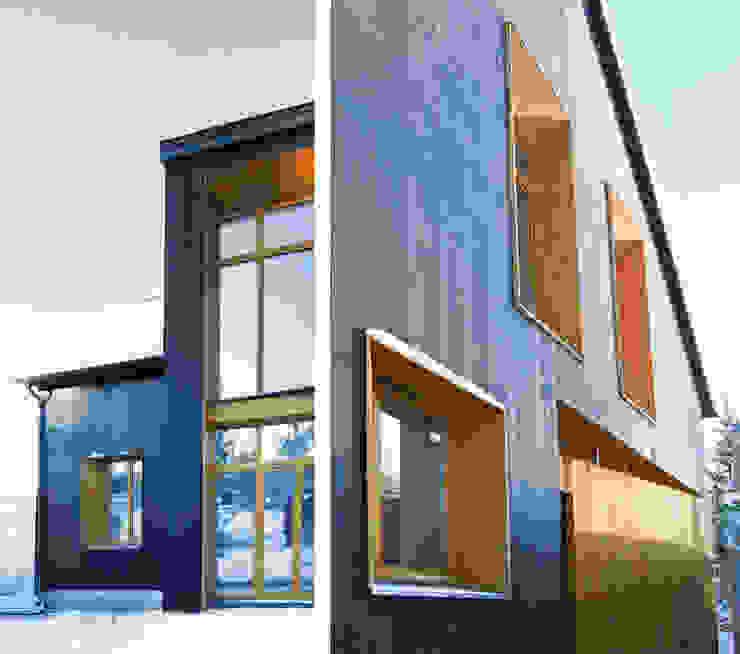 Maisons scandinaves par Snegiri Architects Scandinave