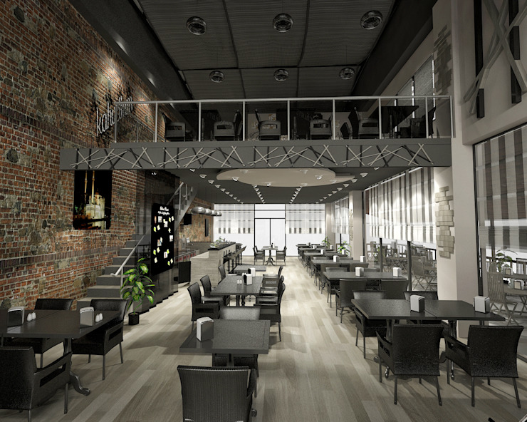 Kahvelium Kahve Evi & Bistro StellaStil İç Mimarlık Modern