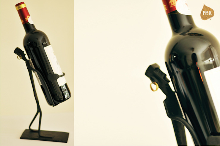 Wine Bottle Man : asian  by The House of Folklore, Asian