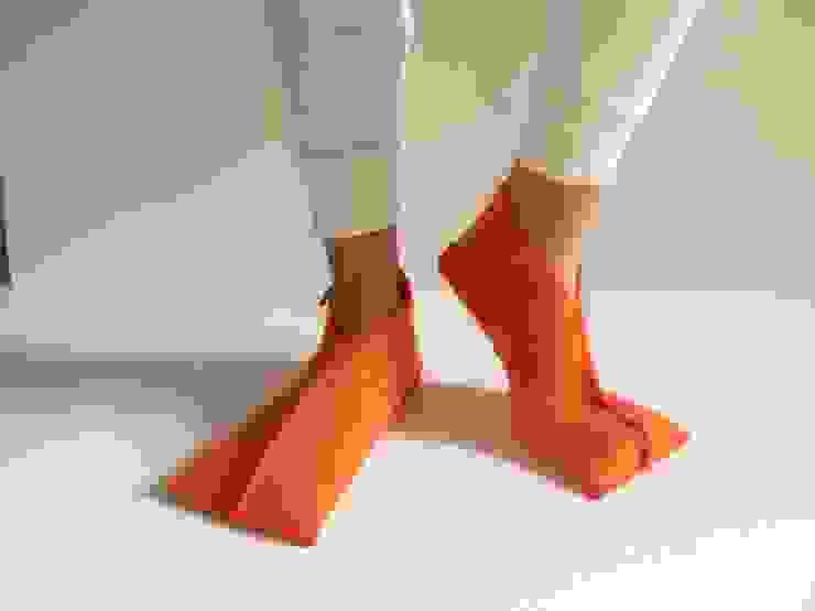 felted wool slippers di raffaella brunzin handmade Minimalista