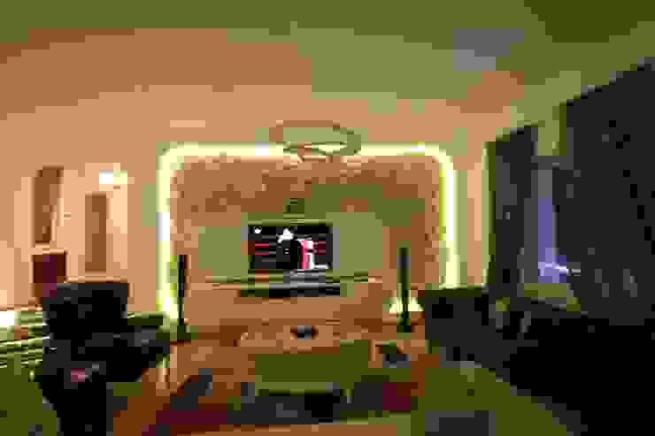 DerganÇARPAR Mimarlık  – AHMET ASLI İLHAN EVİ :  tarz Oturma Odası, Modern