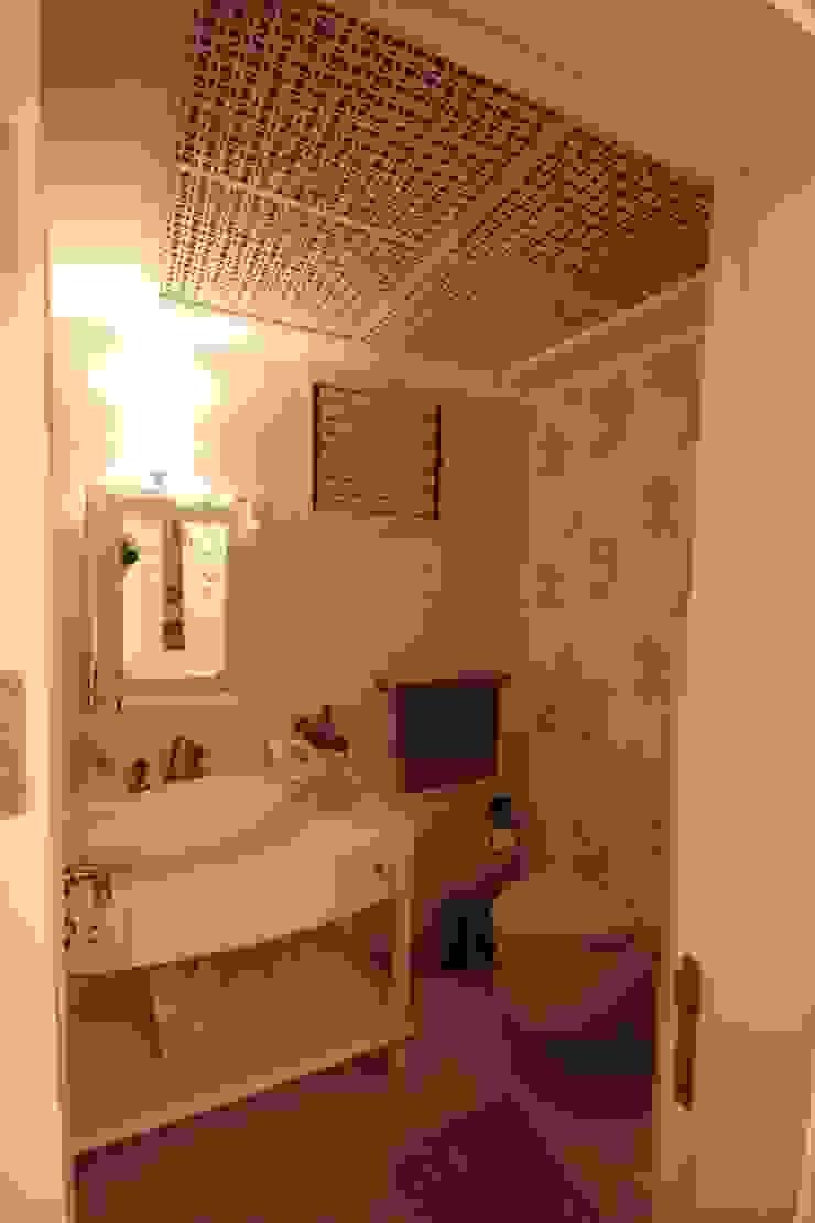 AHMET ASLI İLHAN EVİ Rustik Banyo DerganÇARPAR Mimarlık Rustik