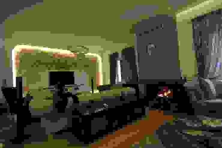 AHMET ASLI İLHAN EVİ Modern Oturma Odası DerganÇARPAR Mimarlık Modern