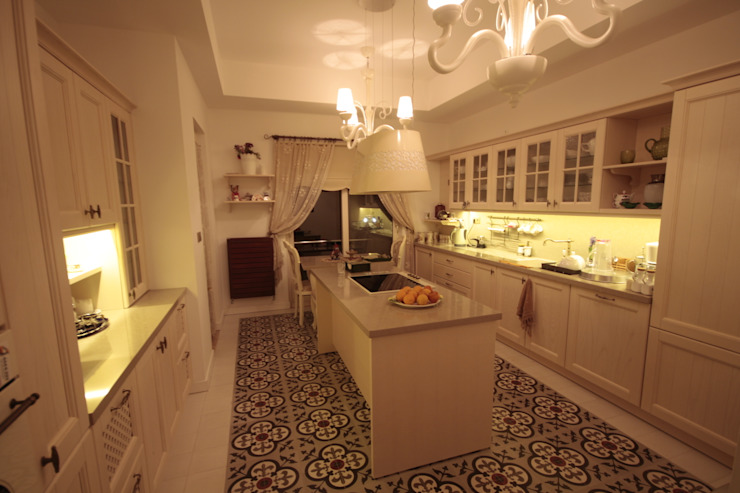 مطبخ تنفيذ DerganÇARPAR Mimarlık , ريفي