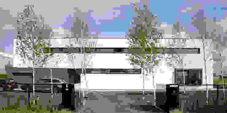 voorgevel van Archstudio Architecten | Villa's en interieur Minimalistisch