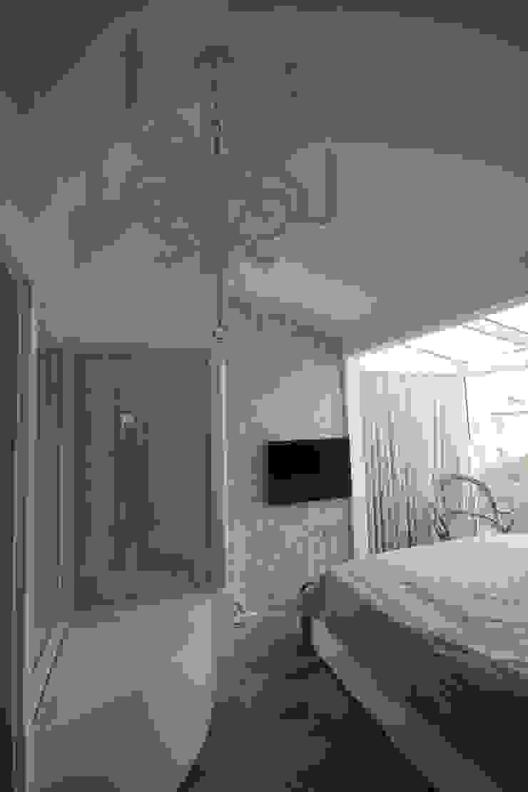 AHMET ASLI İLHAN EVİ Minimalist Yatak Odası DerganÇARPAR Mimarlık Minimalist