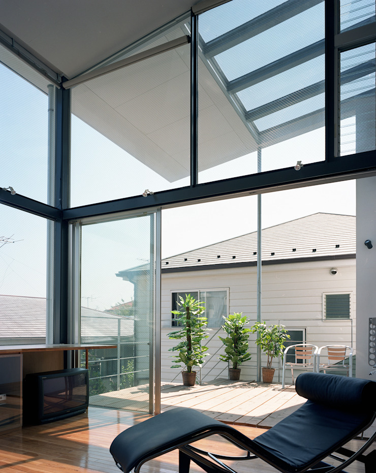 スキップテラスの家 オリジナルデザインの テラス の 西島正樹/プライム一級建築士事務所 オリジナル