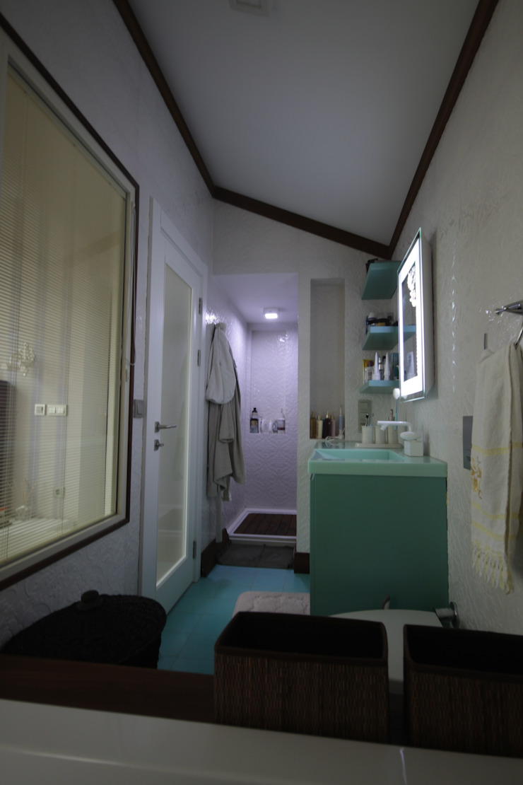 AHMET ASLI İLHAN EVİ Modern Banyo DerganÇARPAR Mimarlık Modern