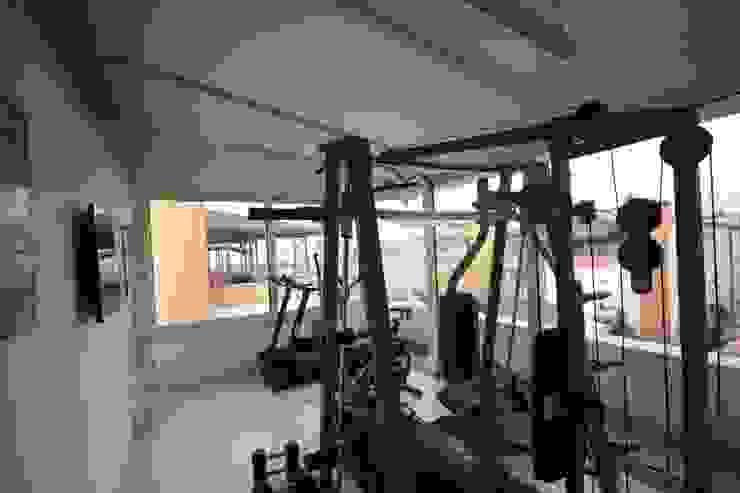 AHMET ASLI İLHAN EVİ Modern Fitness Odası DerganÇARPAR Mimarlık Modern