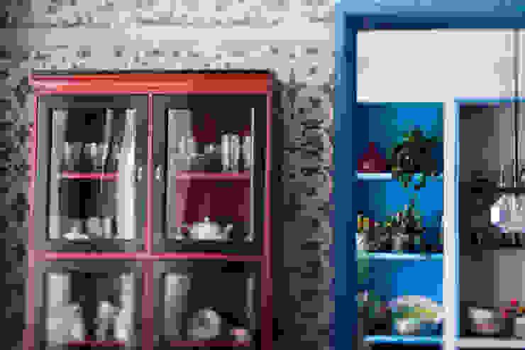 Morris под боком Кухня в средиземноморском стиле от Ekaterina Saranduk Средиземноморский