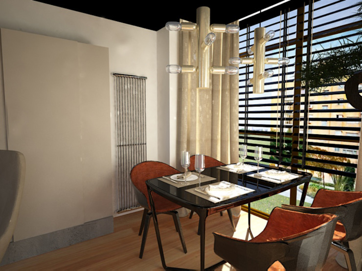 Disak Studio Modern dining room