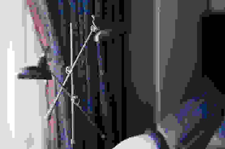 Morris под боком Спальня в средиземноморском стиле от Ekaterina Saranduk Средиземноморский