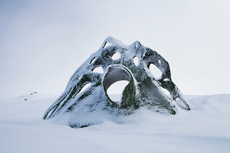 Uprooted, Andy Moerlein Modern museums by Verbier 3-D Modern