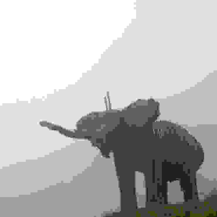 Elephant Walk, Zak Ové Verbier 3-D Modern museums