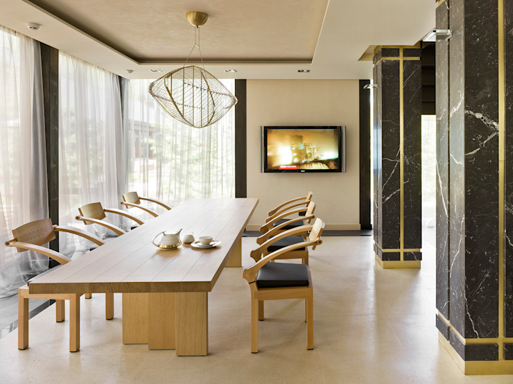 FullHouseDesign Minimalist dining room