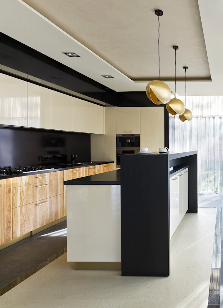 Cocinas de estilo minimalista de FullHouseDesign Minimalista