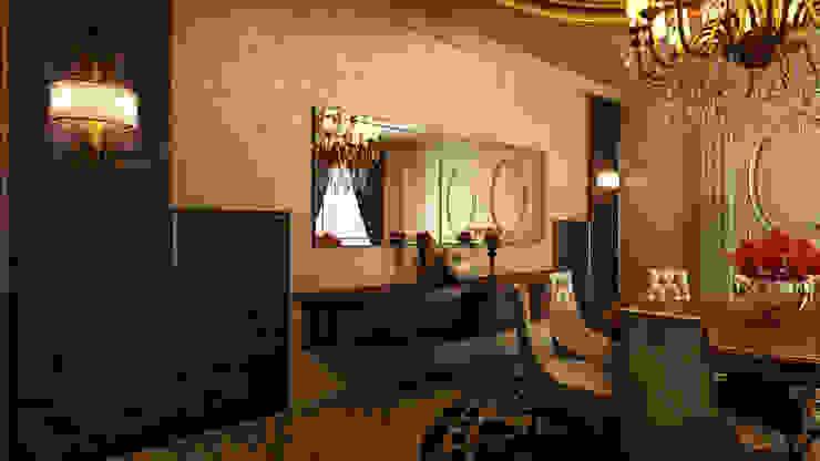 Villa iç tasarımı Klasik Yemek Odası m. rezan özge özdemir Klasik