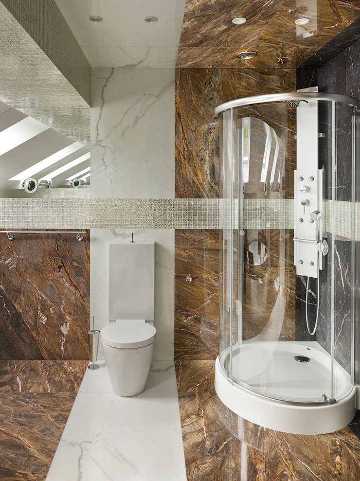 Baños de estilo minimalista de FullHouseDesign Minimalista