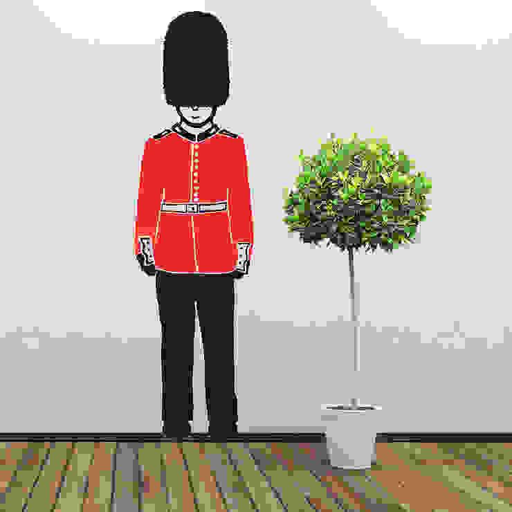 Queens Guard Wall Stickers: modern  by Cuckooland, Modern