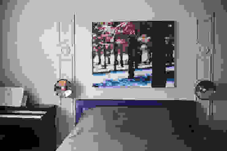 Morris под боком Спальня в эклектичном стиле от Ekaterina Saranduk Эклектичный