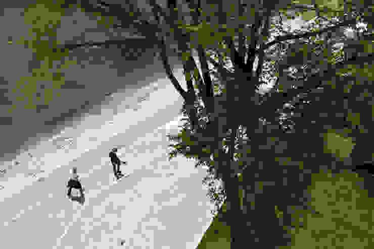 Strand am Mündungspark Moderner Garten von A24 Landschaft Landschaftsarchitektur GmbH Modern
