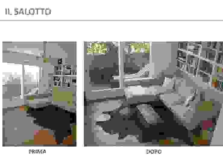 Home Staging - Prima e dopo di Kamaleontika