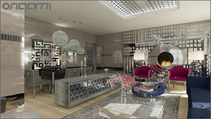 Eclectic style dining room by Origami Mobilya Eclectic