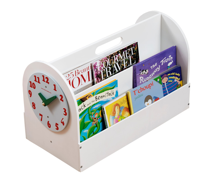 Tidy Book Children's Book Box white: modern  by Tidy Books, Modern