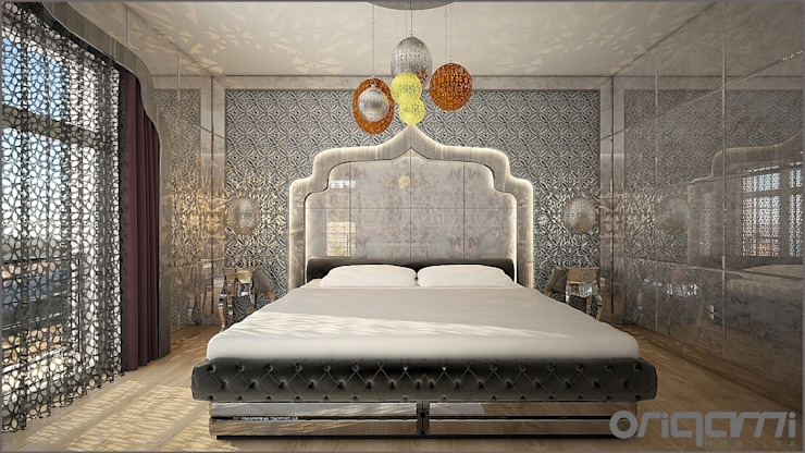 Eclectic style bedroom by Origami Mobilya Eclectic