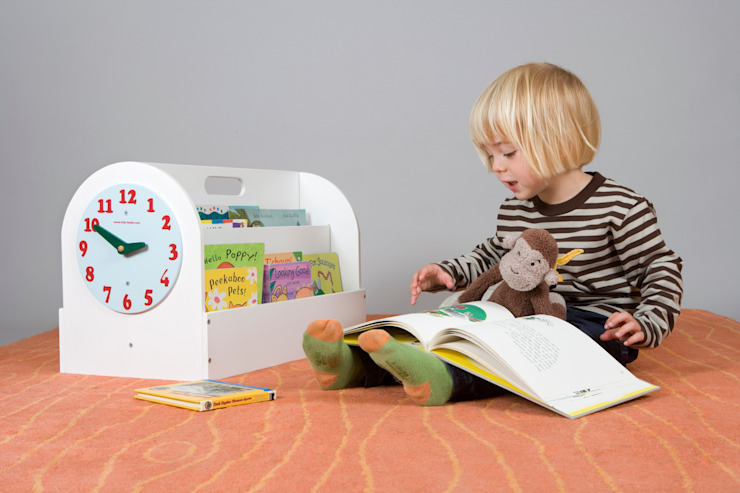 Tidy Books Children's Book Box - white de Tidy Books Moderno
