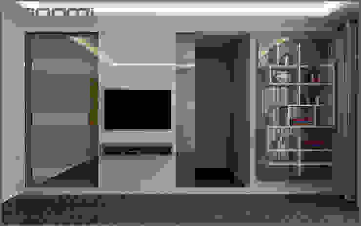 Ofis Tasarımı Eklektik Çalışma Odası Origami Mobilya Eklektik