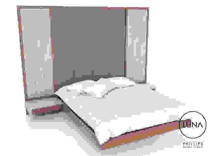 LUNA Floating Bed: modern  by Phillips Design Studio, Modern