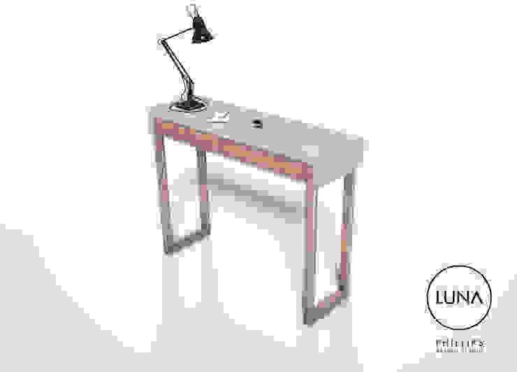 LUNA Console Table: modern  by Phillips Design Studio, Modern