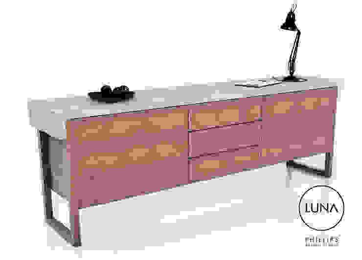 LUNA Sideboard: modern  by Phillips Design Studio, Modern