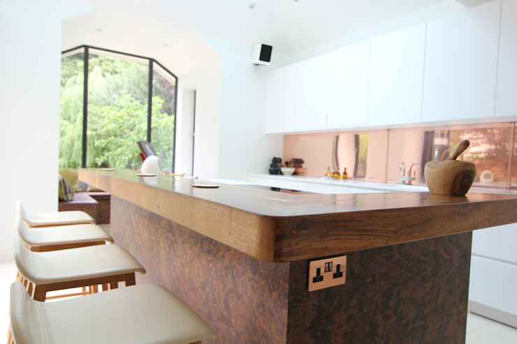 Wanstead Village Kitchen: modern  by Phillips Design Studio, Modern