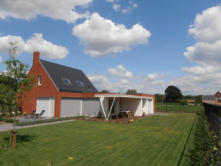 Casas modernas por Joris Verhoeven Architectuur Moderno