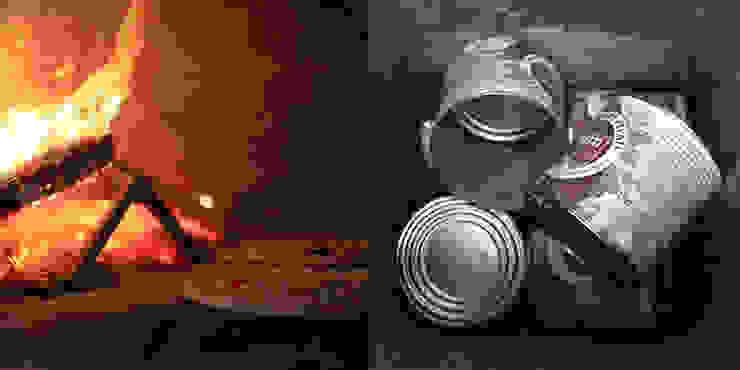 Pizza e le latte di pomodoro di Izmade
