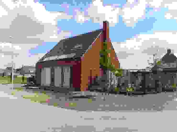 모던스타일 주택 by Joris Verhoeven Architectuur 모던