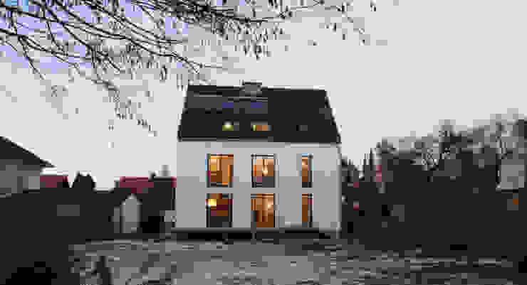 Gartenfassade Moderne Häuser von christina patz architektur energieberatung Modern