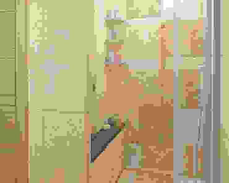 Душ Ванная комната в стиле модерн от e.v.a.project architecture & design Модерн