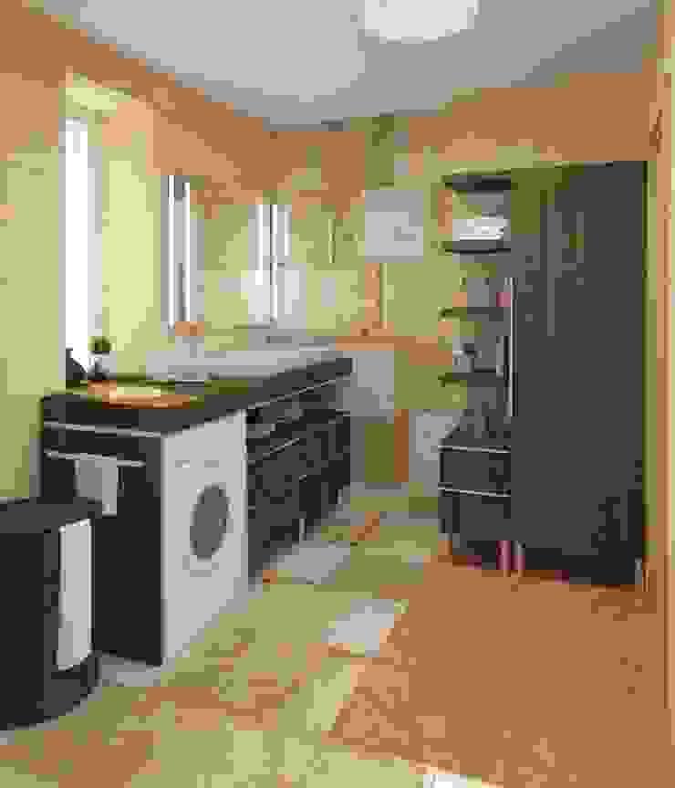 Ванная Ванная комната в стиле модерн от e.v.a.project architecture & design Модерн