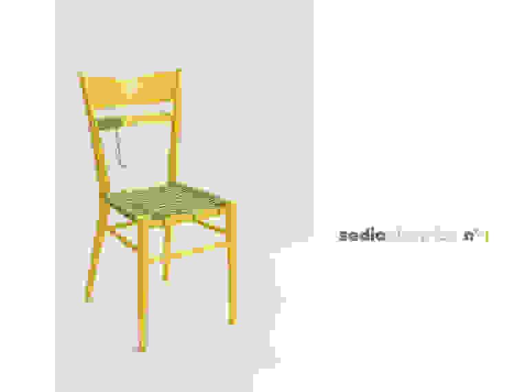 sedia elettrica gialla di Michela Brondi Eclettico