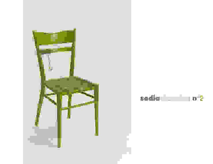 sedia elettrica verde di Michela Brondi Eclettico